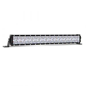 "20/"" WHITE 126W CREE LED DOUBLE ROW COMBO LIGHT BAR FLOOD//SPOT BULBS TRUCK BOAT"